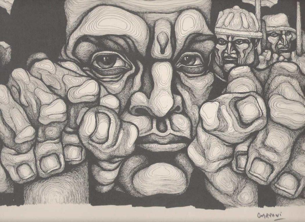 Dibujo: Ricardo Carpani