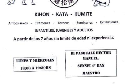 Curso Karate