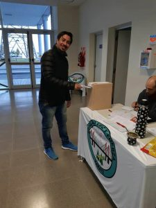 Vota nuestro compañero Ramón Almirón, integrante de la CD