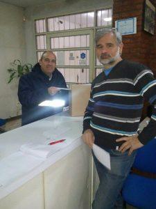 Secretario de la Junta Electoral Fabián Fabian Baxovanos
