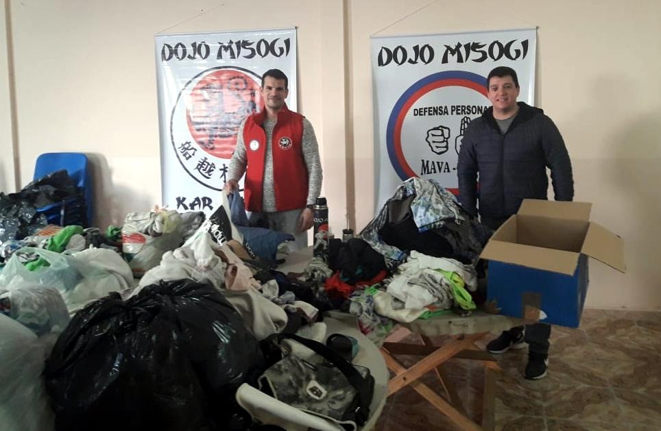 Donativos y comunidades que los recibieron