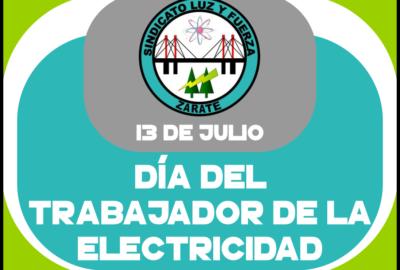 13 julio dia trabajador electricidad
